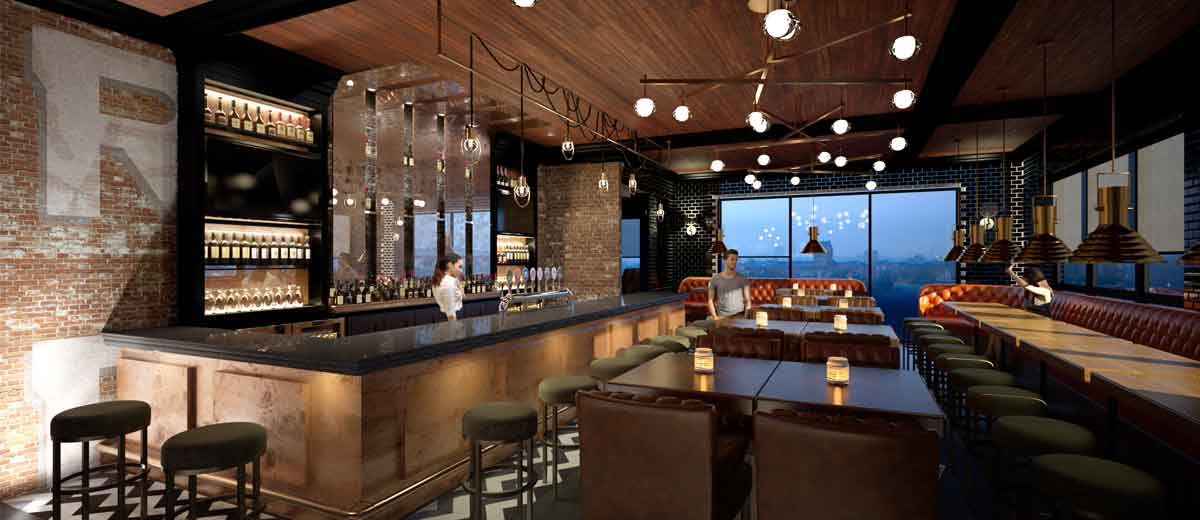 Oakville Ont Imvescor Restaurant Group Opened Its First Redesigned Bâton Rouge Steakhouse Bar In Late 2016 As The Prototype For Further Openings